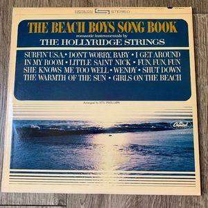 Music record The Beach Boys Song Book